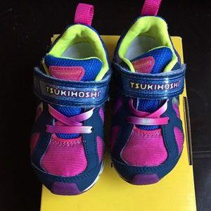 Tsukihoshi rainbow sneakers toddler girl